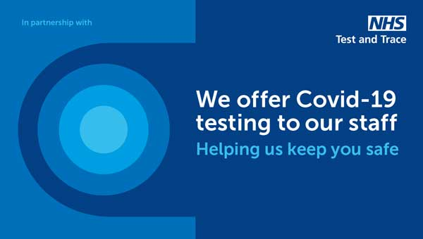 Covid testing for staff